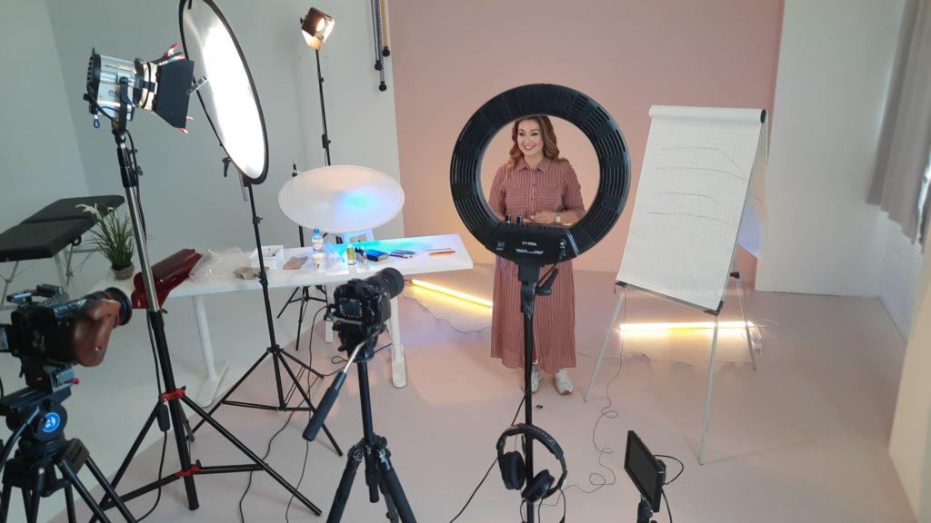 Постановка света при съёмке интервью