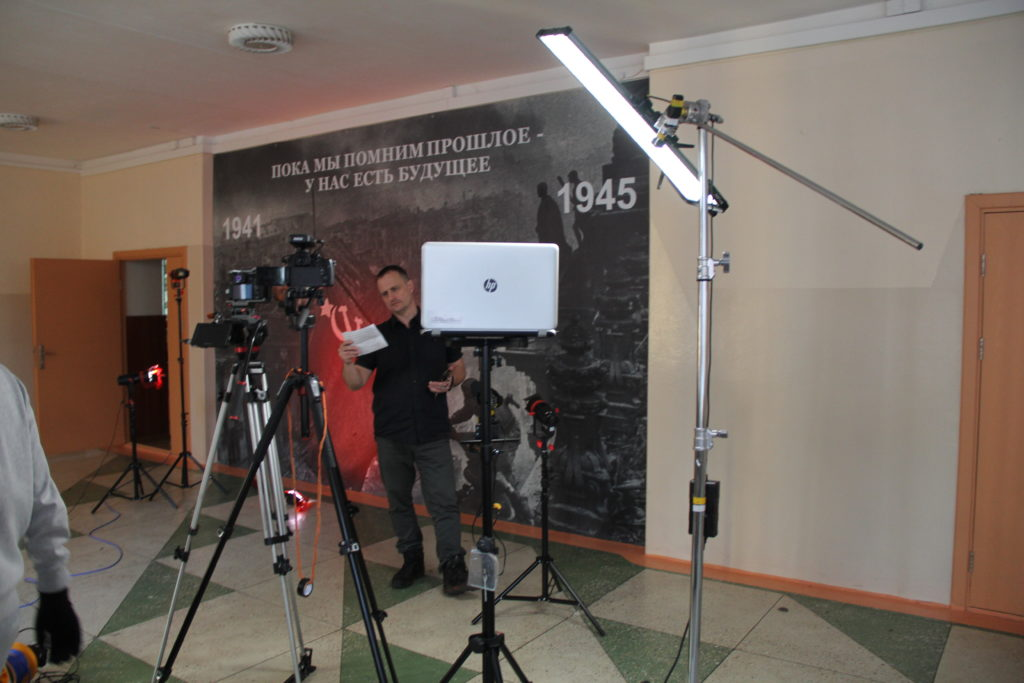 Съёмка интервью оборудование