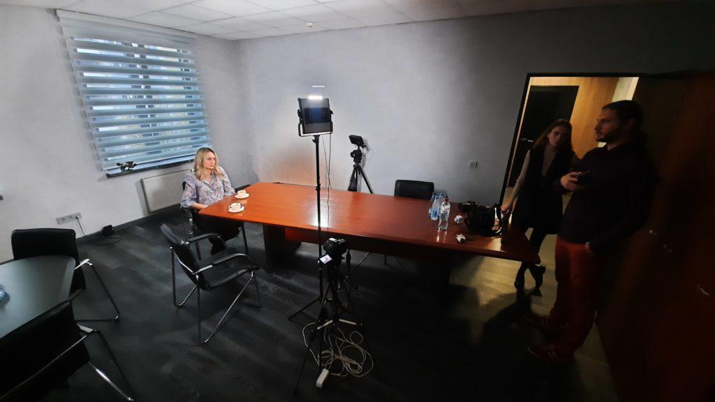 Офис - локация для съёмки видеовизитки