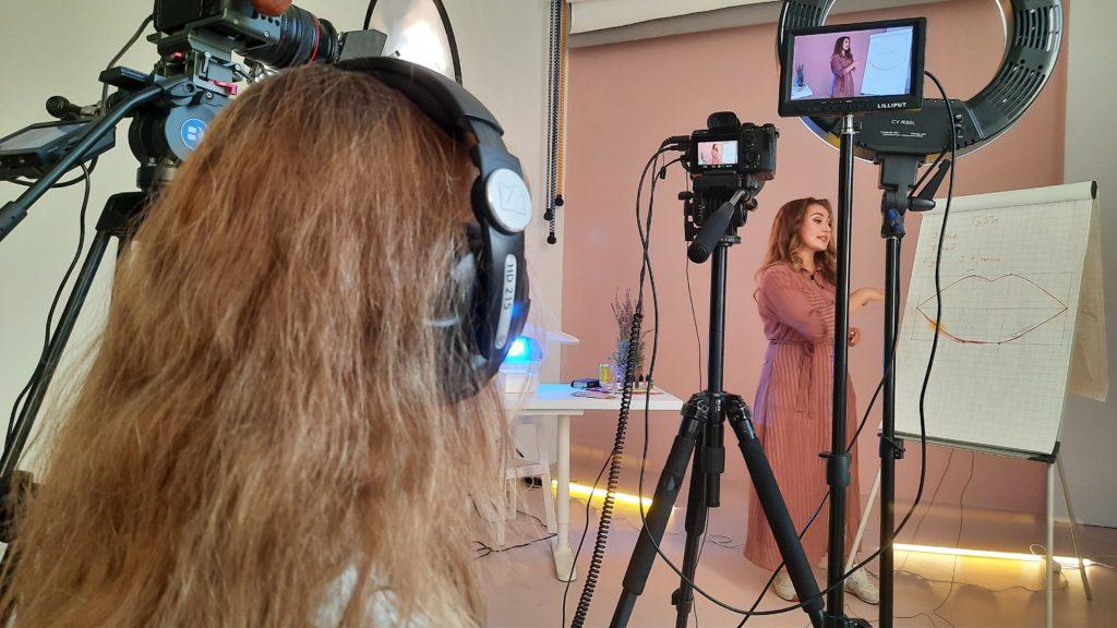 Профессиональная съёмка видеовизитки