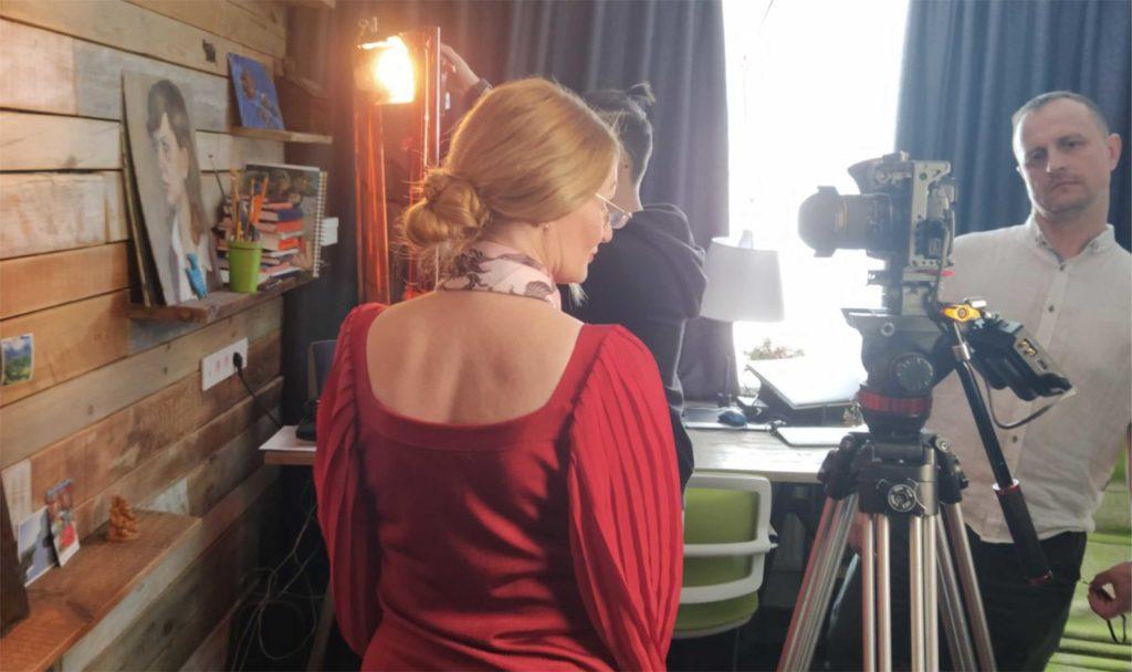 Видеовизитка съёмка