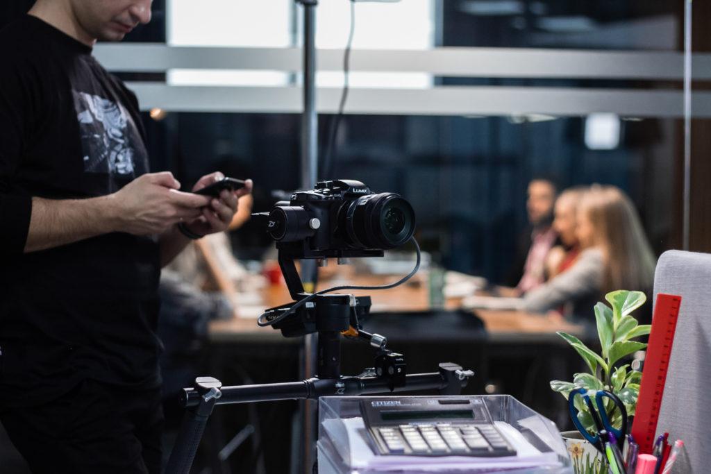 Профессиональная съёмка видеовизиток